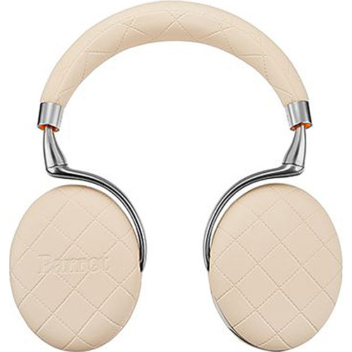 Parrot Zik 3 Bluetooth Headphones w/ Wireless Charger (Ivory Overstitched) - OPEN BOX