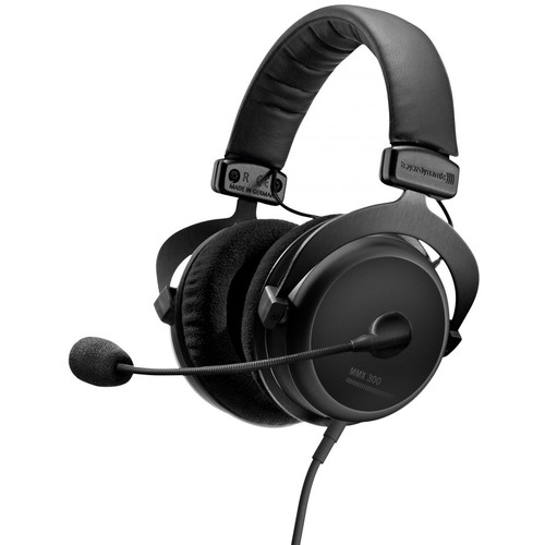 BeyerDynamic MMX 300 PC Gaming Digital Headset with Microphone - 2nd Generation - 32 Ohms