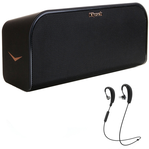Klipsch KMC3 Wireless Music System with Bluetooth Black w/ R6 B.tooth Headphones