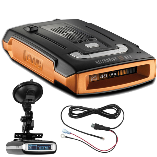 Beltronics GT-7 Extreme Range Radar/Laser Detector w/ Suction Mount Bracket Kit