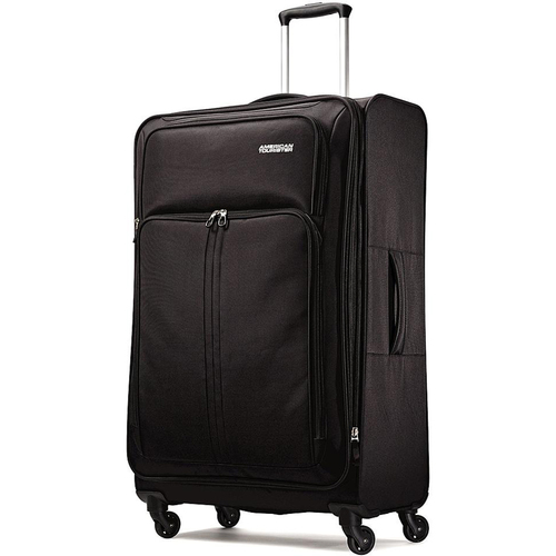 American Tourister Splash Spin LTE 28` Black Spinner Luggage - OPEN BOX