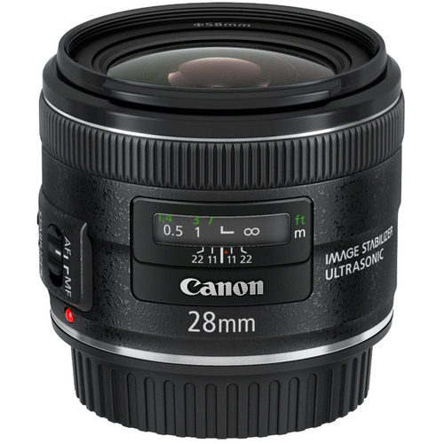 Canon EF 28mm f/2.8 IS USM Wide Angle Lens  CANON AUTHORIZED USA DEALER WITH WARRANTY