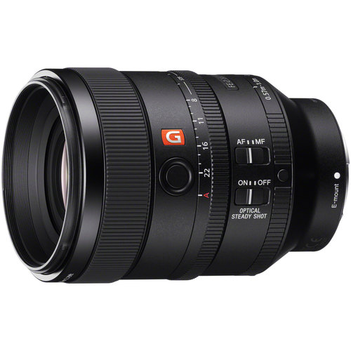 FE 100mm F2.8 STF GM OSS Lens for Sony Full-Frame E-mount Cameras - SEL100F28GM