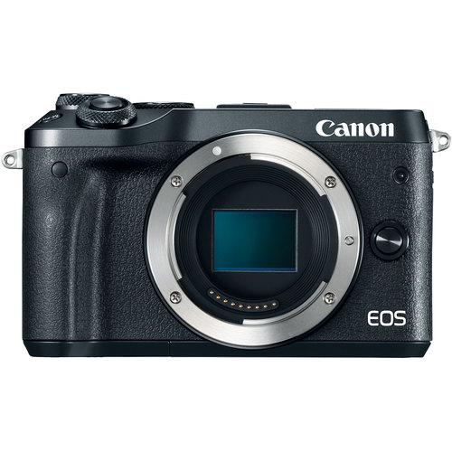 Canon M6 EOS 24.2MP Mirrorless Digital Camera w/ EF-M 18-150mm IS STM Lens Black KIT 2