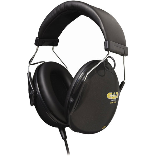 CAD Audio Drummer Isolation Headphones -50mm Drivers DH100