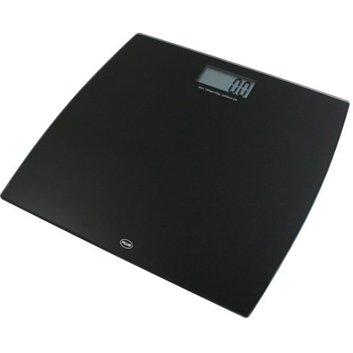 American Weigh Scales Digital Glass Scale in Black - 330LPW-BK