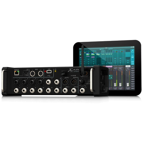 Behringer X AIR XR12 12-Input Digital Mixer for Tablets w/ MIDAS Preamps & WiFi