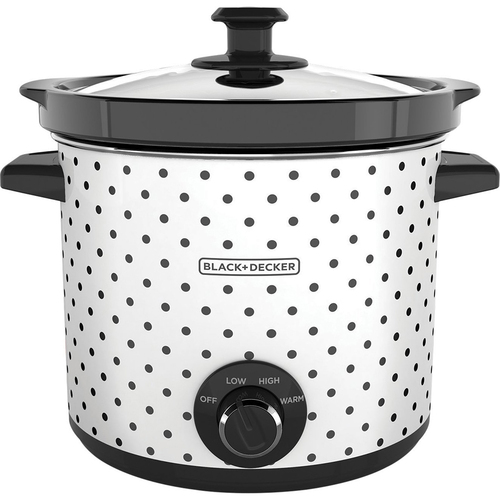 Applica BD 4Qt Slow Cooker Blk Polka