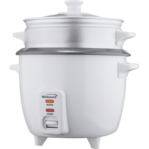 Brentwood Rice Cooker Steamer NS 15Cup
