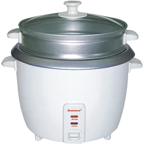 Brentwood Rice Cooker Steamer NS 4Cup