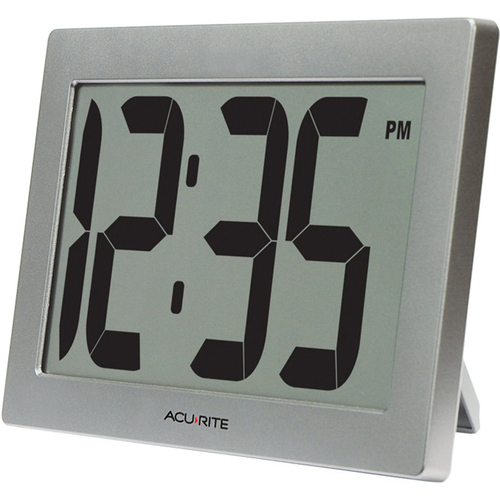 Chaney Instruments AcuRite Digital Clock 9.5` LCD