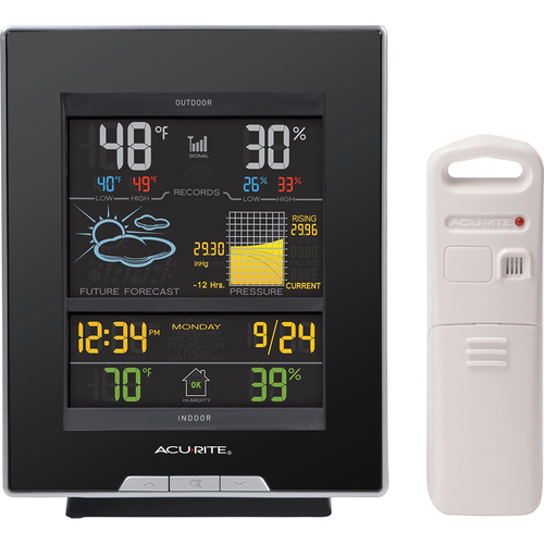 Chaney Instruments AcuRite Color Weather Station