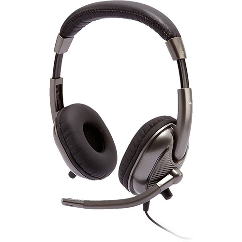 Cyber Acoustics Kids Stereo Headset with Dual Plugs - AC-8000
