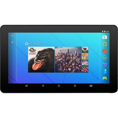 Ematic Quad Core Tablet with Headpones | 16 GB 10` Wireless LAN 1.2 GHz | Blue