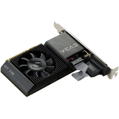 EVGA GeForce GT 710 2GB DDR3 PCI Express Single Slot Graphics Card - 02G-P3-2713-KR