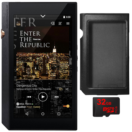 Pioneer XDP-300R Portable Digital Audio Player w/ WiFi & Bluetooth, Black + 32GB Card