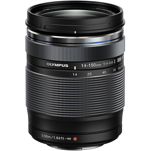 Olympus 14-150mm f4.0-5.6 II Lens for Micro Four Thirds Cameras - Black - OPEN BOX