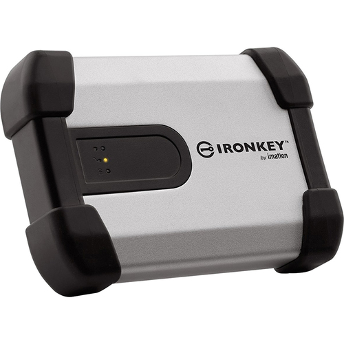 IronKey H350 Basic 2TB Encrypted External Hard Drive - MXKB1B002T5001FIPS-B