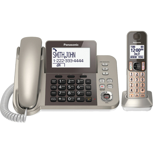 Panasonic Corded Phone with 1 Cordless Handset - KX-TGF350N