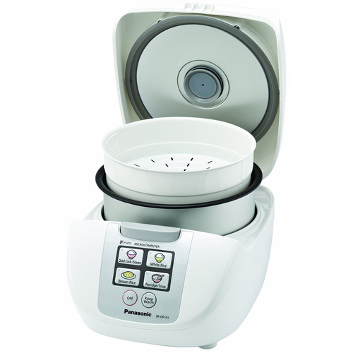 Panasonic 10-Cup One-Touch Fuzzy Logic Rice Cooker - SR-DF181