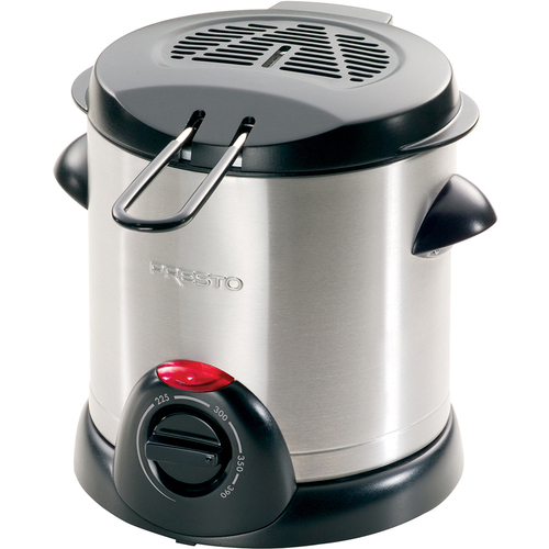 Presto Deep Fryer Electric 1 Liter Stainless Steel - 05470