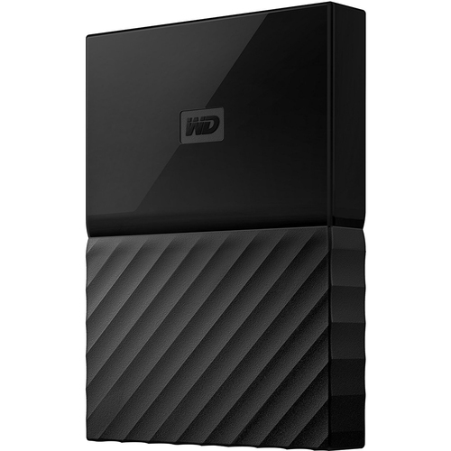 Western Digital 1TB My Passport for Mac Portable External Hard Drive Black - WDBFKF0010BBK-WESN