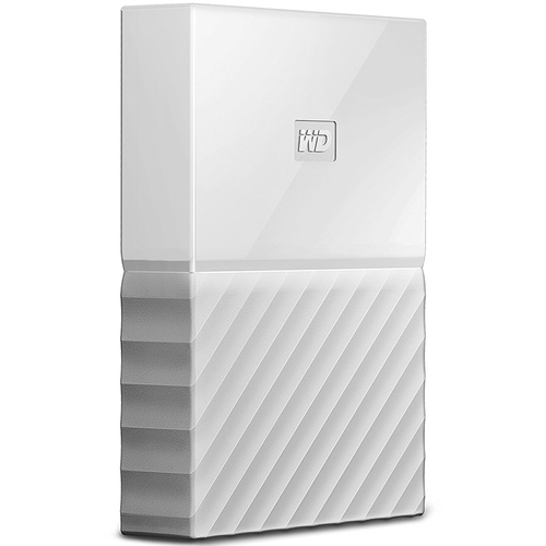 Western Digital WD 3TB My Passport Portable Hard Drive - White
