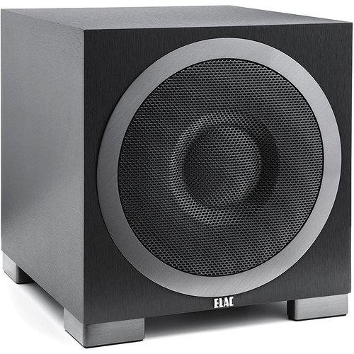 Elac Debut Series S10EQ 400W Powered Subwoofer DS10EQ1-BK with Bluetooth Control