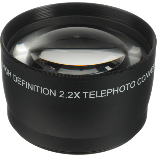 General Brand 55mm High Definition Pro 2x Telephoto Conversion Lens (Black)