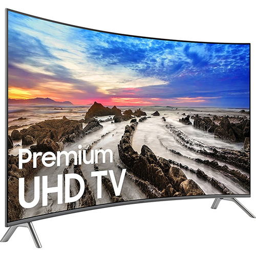 Samsung UN55MU8500FXZA 54.6` Curved 4K Ultra HD Smart LED TV (2017 Model)
