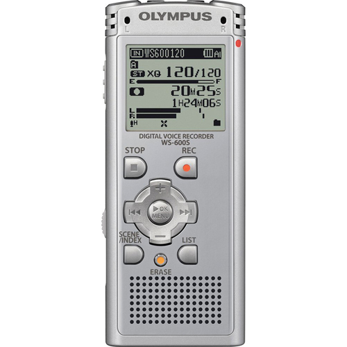 Olympus WS-600S Digital Voice Recorder 142610 (Silver) - OPEN BOX
