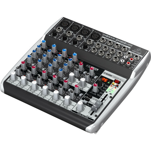 Behringer XENYX Premium 12-Input 2-Bus Mixer w/ Mic Preamps & USB Audio Interface