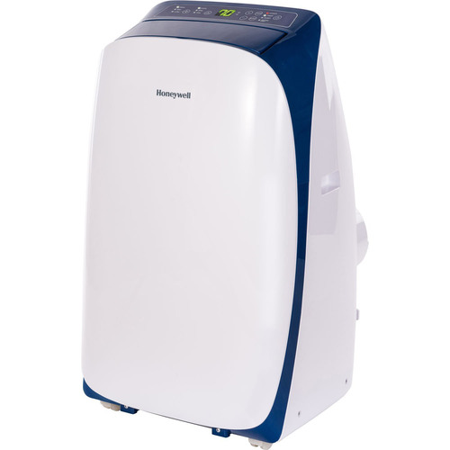 Honeywell HL10CESWB 10,000 BTU Portable Air Conditioner with Remote Control in White/Blue
