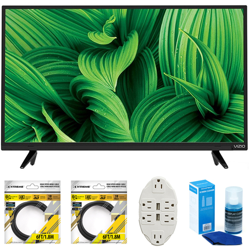 Vizio D-Series 32` Full Array LED TV 2017 Model D32hnx-E1 with Cleaning Bundle