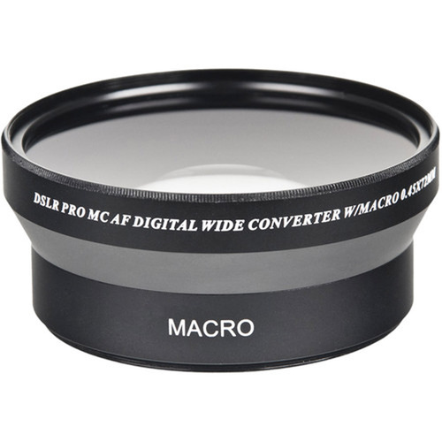 Bower VLC4572B 72mm 0.45x High Definition AF Wide Angle Conversion Lens