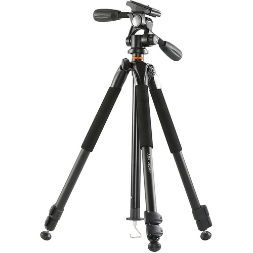 Alta Plus 263AP 3-Section Aluminum Tripod w/ 3-way Magnesium Alloy Photo Panhead