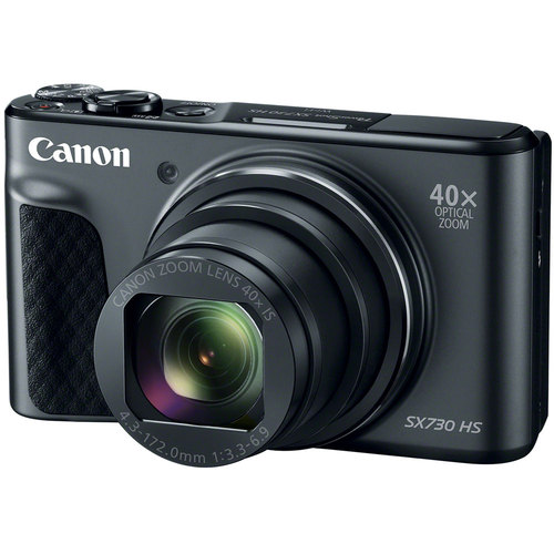 Canon PowerShot SX730 HS 20.3MP 40x Optical Zoom Digital Camera (Black)