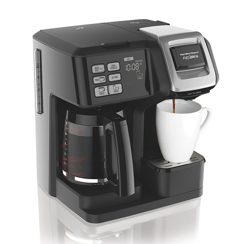 49976 FlexBrew 2-Way Brewer Programmable Coffee Maker - Black