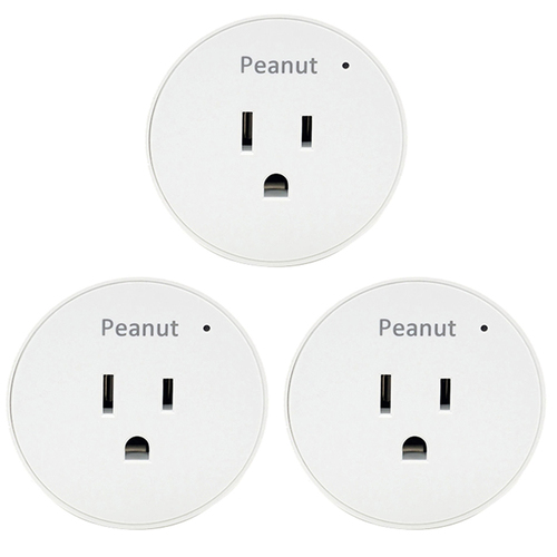 Securifi Smart Peanut Plug for Android and iOS PP-WHT-US 3 Pack