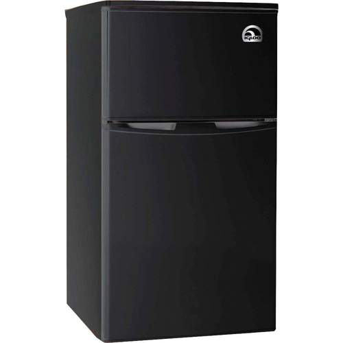 Igloo 3.2 cu. ft. 2-Door Fridge with Freezer - FR832-BLACK