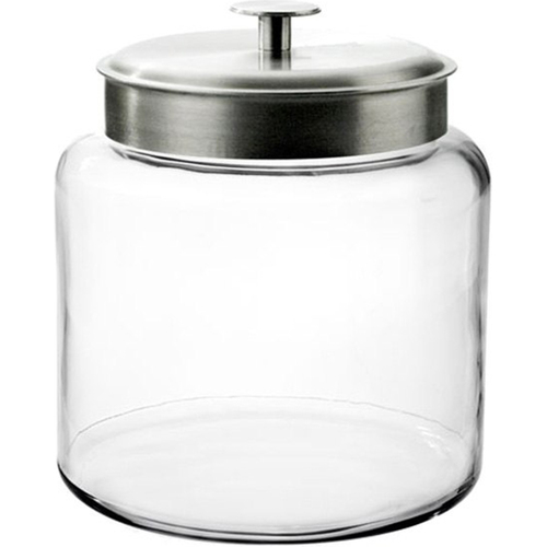 Anchor Hocking 1.5-Gallon Montana Jar with Brushed Metal Lid - 95506