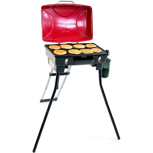 Blackstone Dash Portable Outdoor Grill in Red and Black - 1610 - OPEN BOX