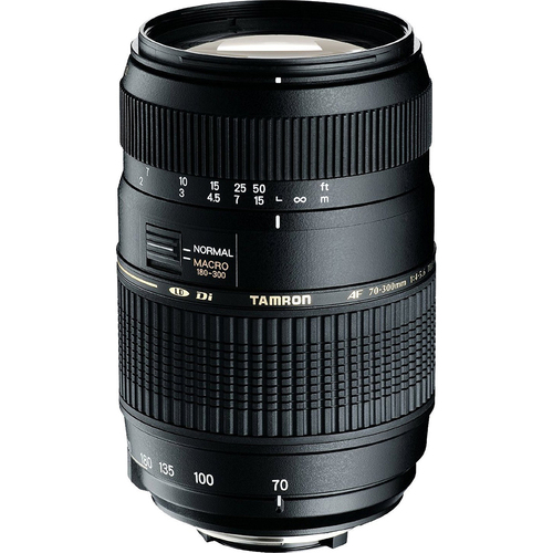 70-300mm f/4-5.6 DI LD Macro f/ Nikon AF w/ Built-in Motor & 6-Year USA Warranty