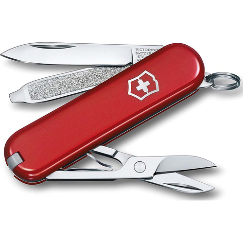 Victorinox Swiss Army Classic SD Pocket Knife (Red)