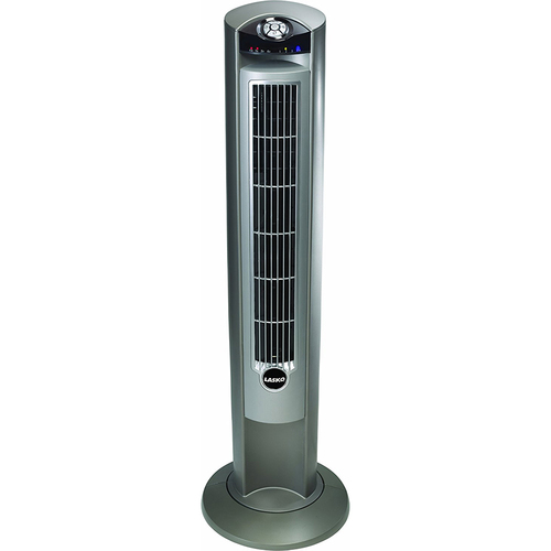 Lasko 2551 - Wind Curve Platinum 42-Inch 3-Speed Tower Fan with Remote Control