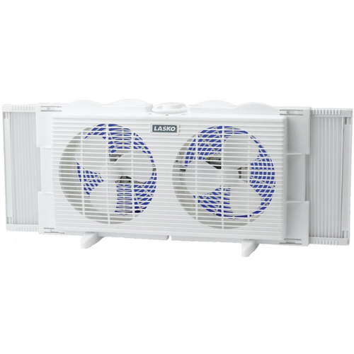 Lasko 7` Twin Window Fan - 2137