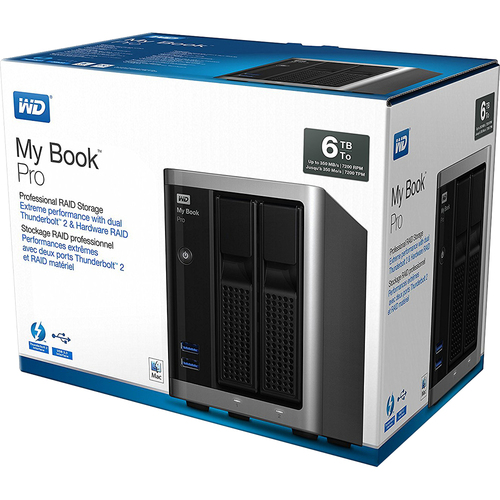 Western Digital My Book Pro - Professional RAID Storage, 6 TB