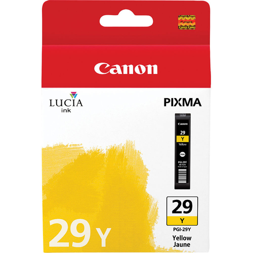 Canon PGI-29 Y - LUCIA Series Yellow Ink Cartridge for Canon PIXMA PRO-1 Printer