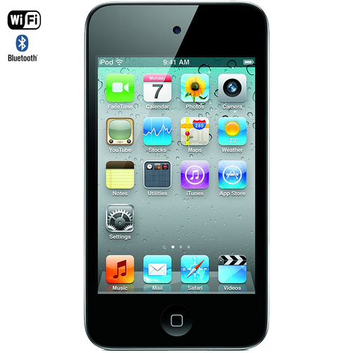 Apple iPod touch 16GB Black (4th Generation) A1367-16GB - Certified Refurbished