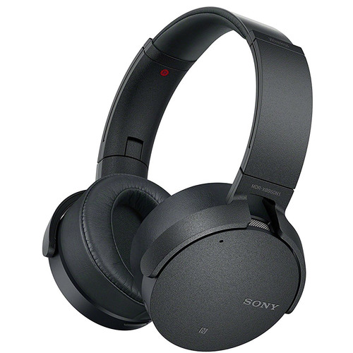 XB950N1 Noise Canceling Extra Bass Wireless Bluetooth Headphones, Black